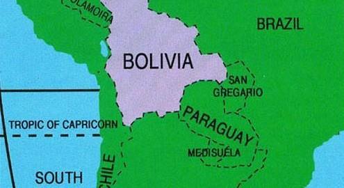 shipping to Bolivia