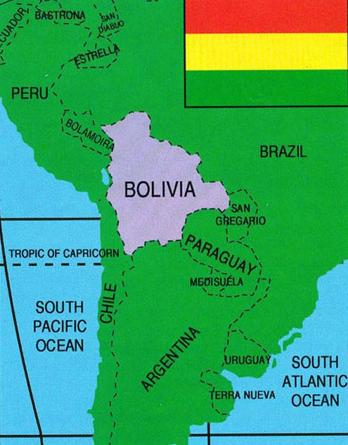 a geographical overview of bolivia